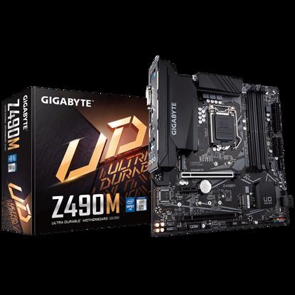 Fotografija izdelka GIGABYTE Z490M, DDR4, SATA3, USB3.2Gen2, DP, LGA1200 mATX