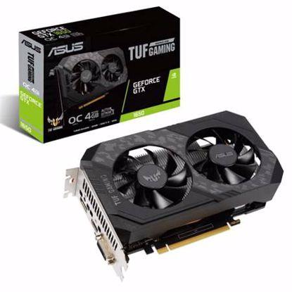 Fotografija izdelka ASUS TUF GeForce GTX 1650 OC 4GB GDDR6 (TUF-GTX1650-O4GD6-P-GAMING) gaming grafična kartica