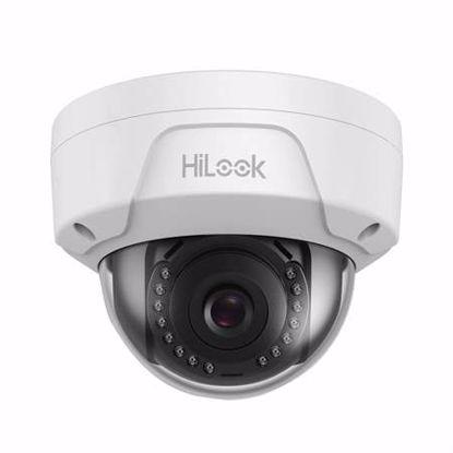 Fotografija izdelka IP Kamera-HiLook 2.0MP Dome zunanja POE IPC-D121H-M 2.8mm metal