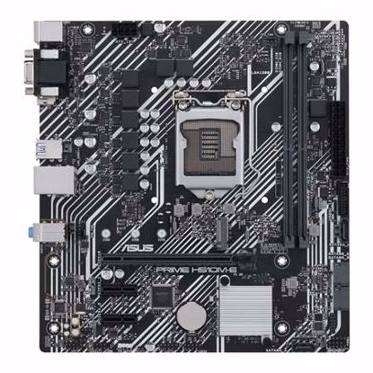 Fotografija izdelka ASUS PRIME H510M-E LGA1200 (11th-gen) mATX DDR4 matična plošča