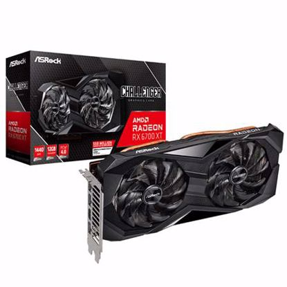 Fotografija izdelka ASROCK Radeon RX 6700 XT 12GB GDDR6 Challenger D gaming grafična kartica