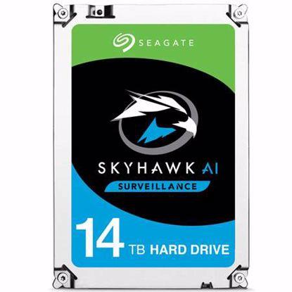 Fotografija izdelka SEAGATE SkyHawk AI 14TB 3,5 '' SATA 3 256MB 7200rpm (ST4000VE0008) trdi disk