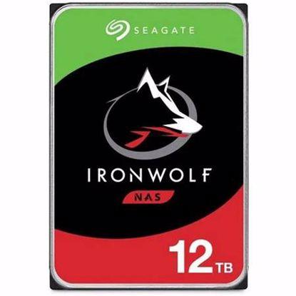 Fotografija izdelka SEAGATE IronWolf 12TB 3,5'' SATA 3 256MB 7200rpm (ST12000VN008) trdi disk