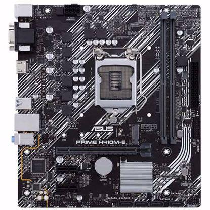 Fotografija izdelka ASUS PRIME H410M-E/CSM LGA1200 (10th-gen) mATX DDR4 matična plošča
