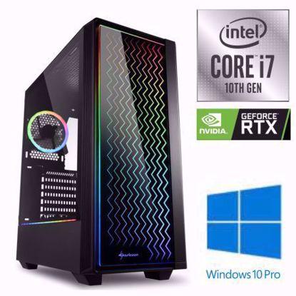 Fotografija izdelka iGamer Core i7-10700F / 16GB / SSD 500GB NVMe / HDD 3TB / RTX 3070 8GB / W10PRO