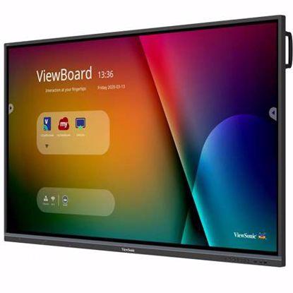 """Fotografija izdelka VIEWSONIC ViewBoard IFP7550-3 190,5cm (75"""") 4K na dotik interaktivni zaslon"""