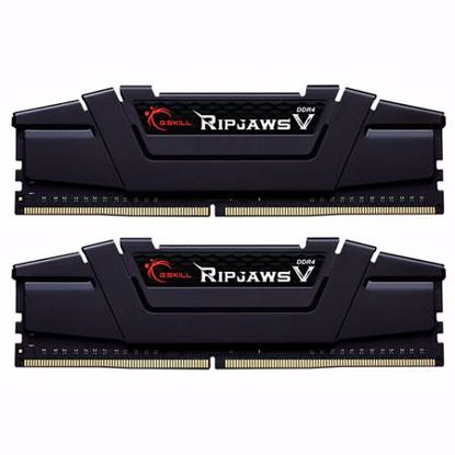 Fotografija izdelka G.SKILL Ripjaws V 32GB (2x16GB) 3600MHz DDR4 (F4-3600C16D-32GVKC) ram pomnilnik