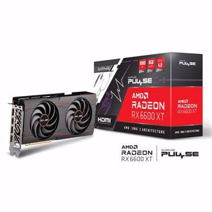 Fotografija izdelka SAPPHIRE Radeon RX 6600 XT 8GB GDDR6 (11309-03-20G) PULSE OC gaming grafična kartica