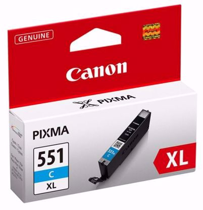Fotografija izdelka Kartuša Canon CLI-551C XL Modra, original